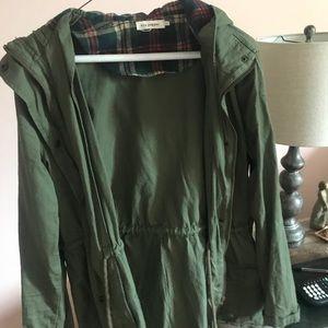 Blu pepper olive green jacket